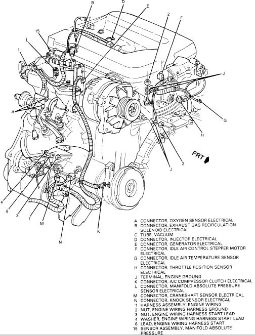 camaro 3 8 engine diagram wiring diagram u2022 rh championapp co 1994 Camaro Z28 2002 Infiniti QX4 Engine Diagram